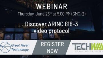 ARINC 818-3 video protocol - ARINC 818 3 Webinar