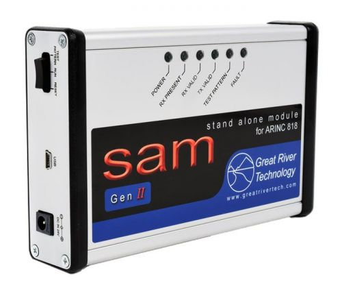 ARINC 818-3 video protocol - HS SAM 1