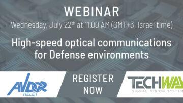 High-speed optical communications for Defense environments - Optical FMCs Webinar