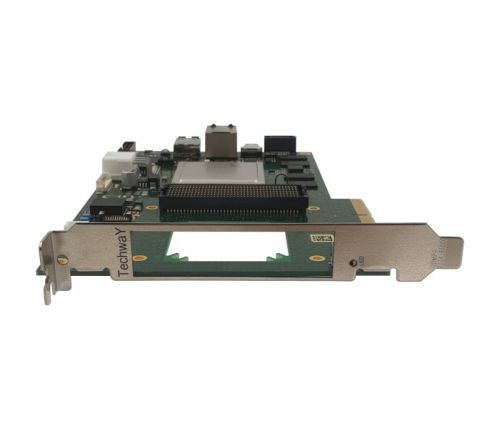 zynq board pcie with fmc+ - PFP ZU front