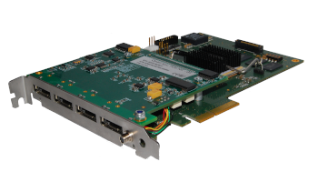 SpaceWire and SpaceFibre interface cards - SpaceFibre Teletel